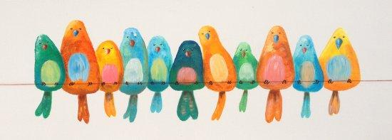 """Vogelparade"""